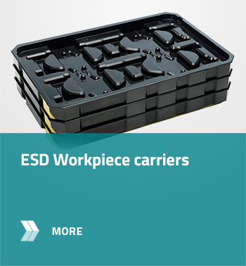 ESD Workpiece carriers