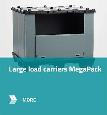 Large load carriers MegaPack
